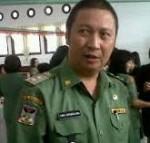 Wabup Ivansa Hadiri Pelantikan Ketua PN Tondano