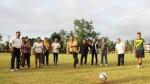 Walikota Eman Buka Kejuaraan Sepak Bola Di Tinoor